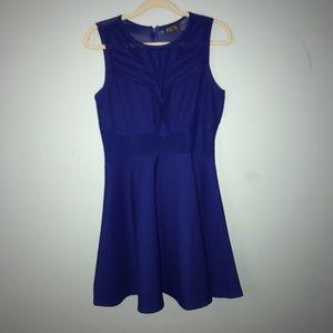 ASTR Blue Formal Dress